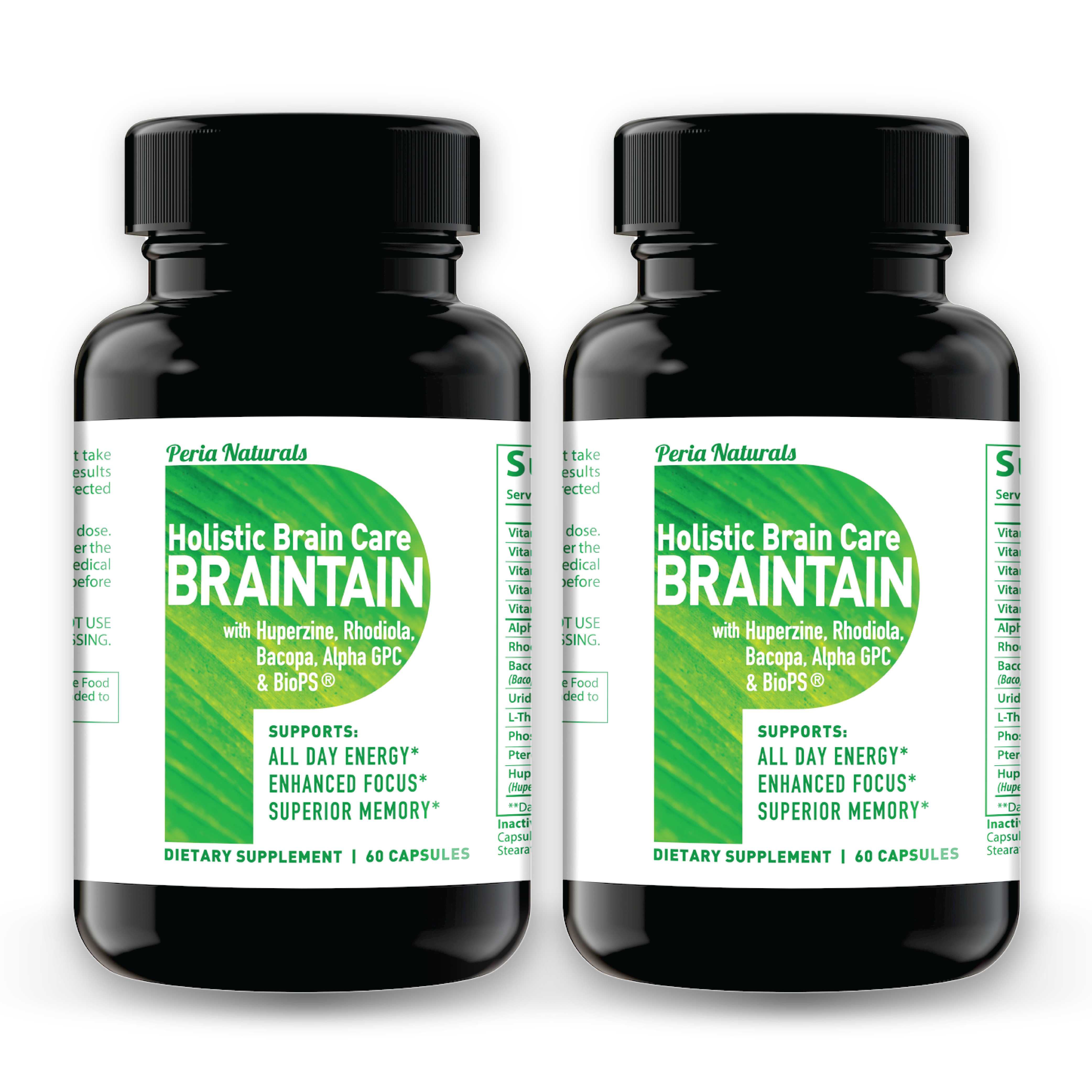 BRAINTAIN (2 Bottles)