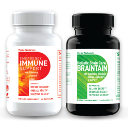 Mind and Body Duo For Brain Health and Immune Defense Peria Naturals
